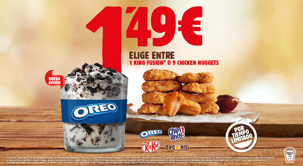 oferta burger king, restaurantes, hamburguesas
